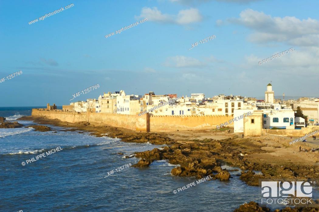 Photo de stock: Morocco, Medina of Essaouira, Atlantic coast, Unesco world heritage.