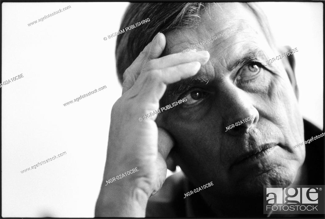 Stock Photo: portrait of an elderly man.