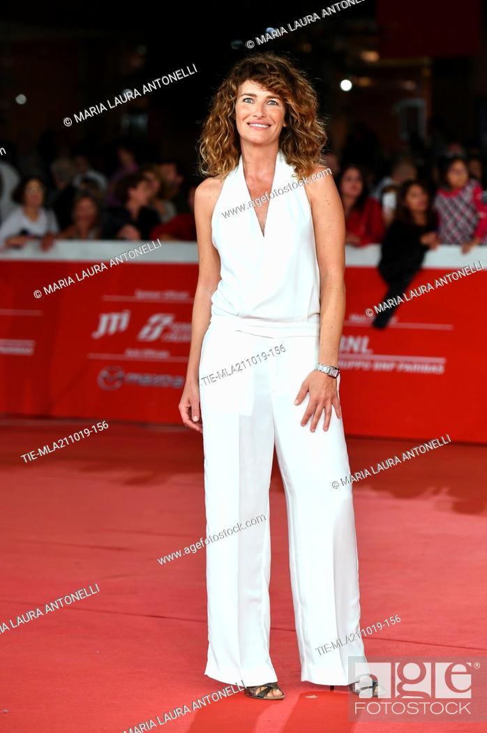 Imagen: Annalisa Mandolini during the red carpet of film ' Il ladro di giorni ' at the 14th Rome Film Festival, Rome, ITALY-20-10-2019.