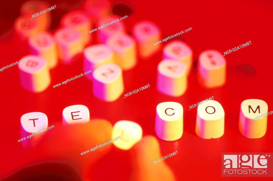 Stock Photo: telecommunication.
