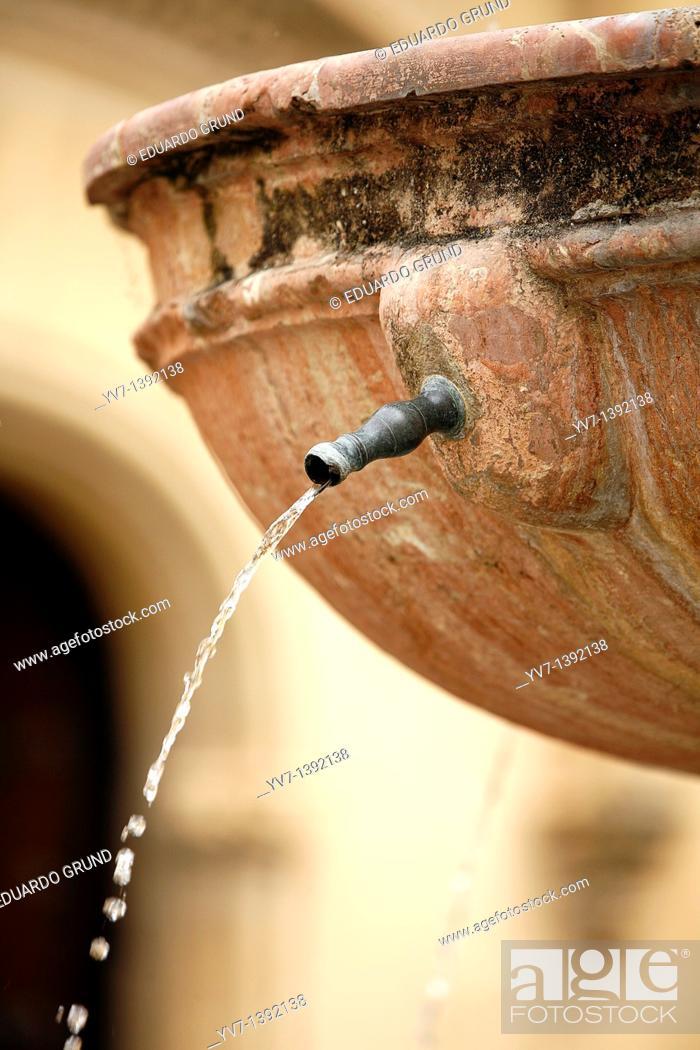 Stock Photo: Posada del Potro's source.