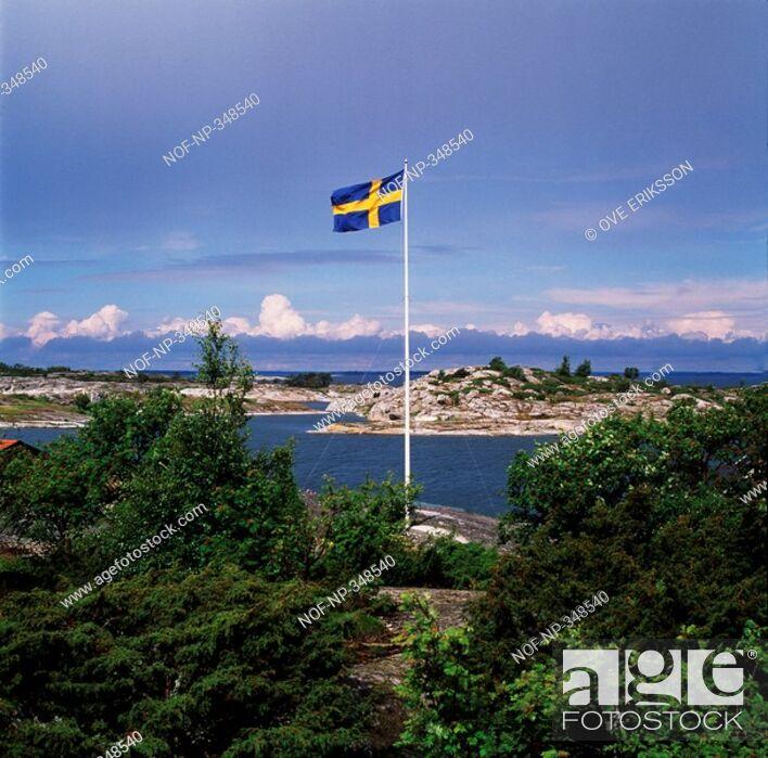 Stock Photo: Stockholm archipelago.