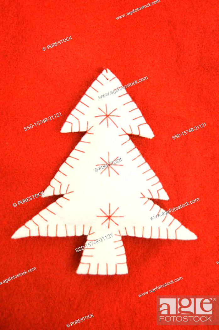 Stock Photo: Close-up of a Christmas tree.