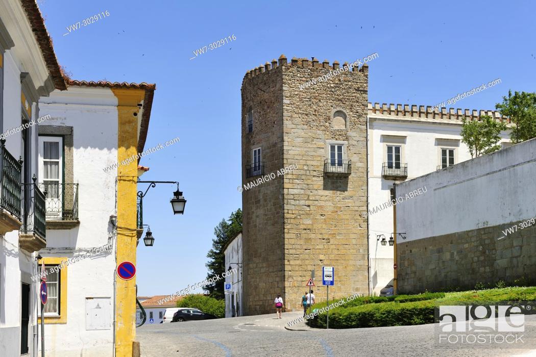 Imagen: Historic centre of Évora, a Unesco World Heritage Site. Portugal.