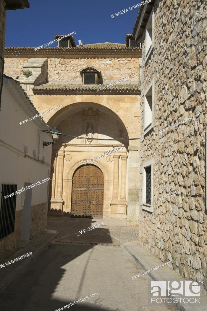 Imagen: Church of San Antonio Abad, El Toboso, Toledo, Castilla la Mancha, Spain.