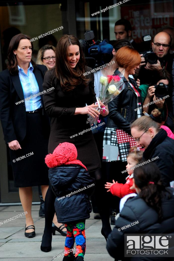 the duchess of cambridge kate middleton visits the fostering network to celebrate the work of stock photo picture and rights managed image pic wen wenn22076139 agefotostock 2