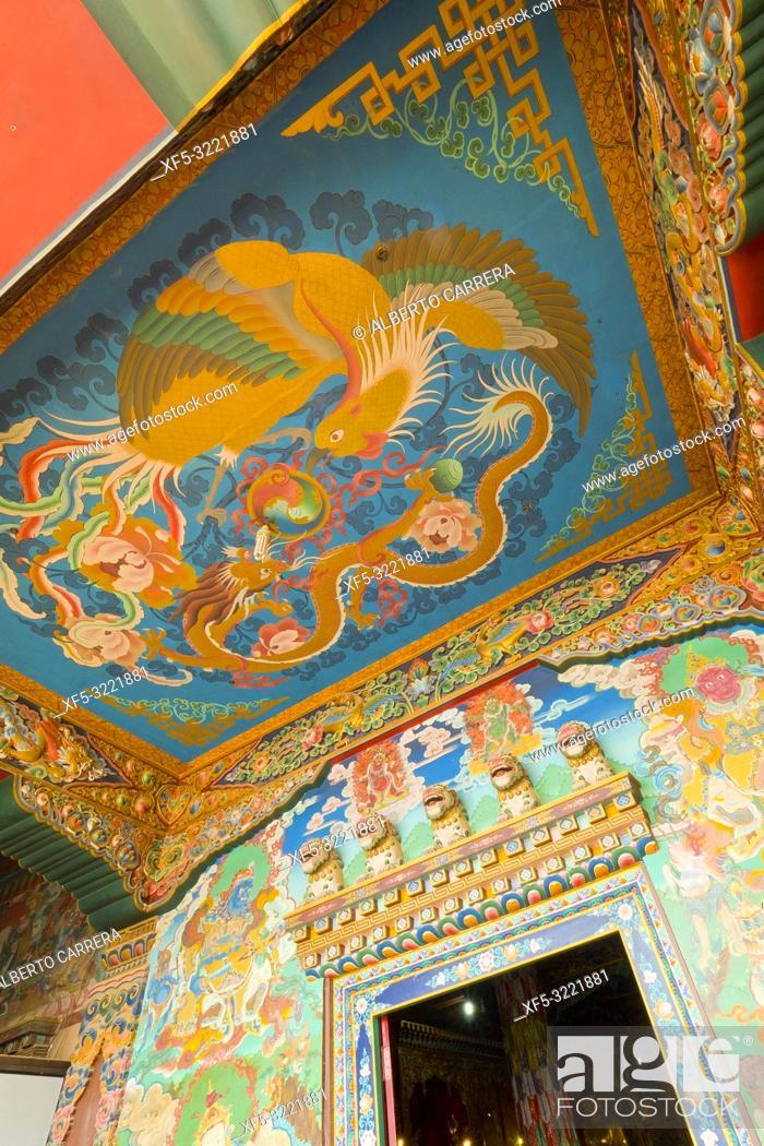 Imagen: Buddhist Temple, Boudhanath, UNESCO World Heritage Siite, Kathmandu, Nepal, Asia.