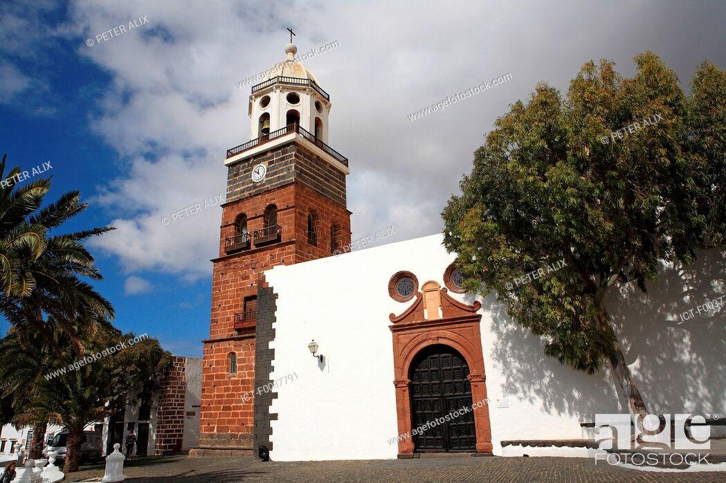 Imagen: Spain, Canary islands, Lanzarote, Nuestra senora de guadalupe church.