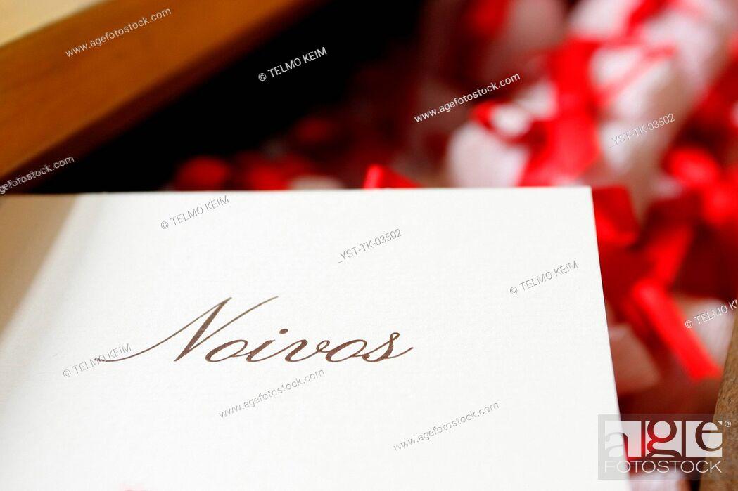 Stock Photo: Bem casado, sweet, candy, macaron, wedding, marriage, party, celebration, delicate, Brazil.