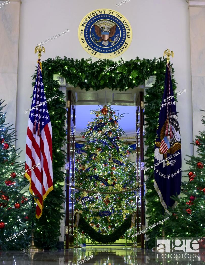 The 2018 White House Christmas Decorations With The Theme