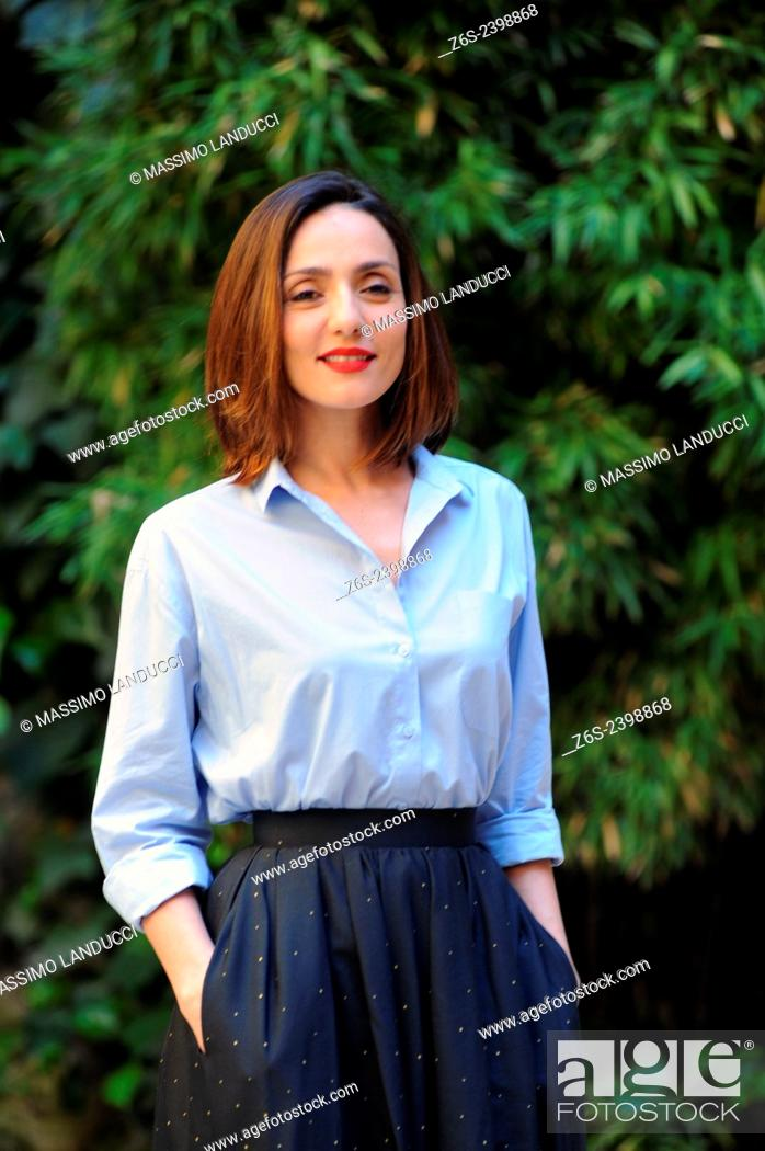 Stock Photo: Ambra Angiolini; Angiolini; actress ; celebrities; 2015;rome; italy;event; photocall; la scelta.