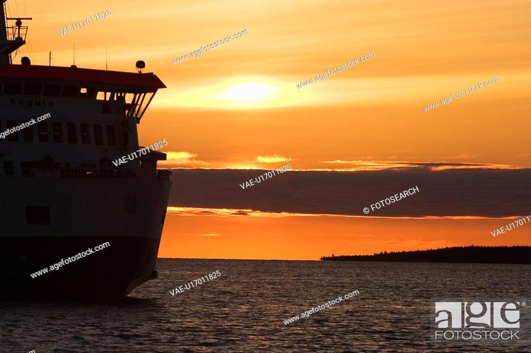 Stock Photo: Dawn, Day, Dusk, Landscape.