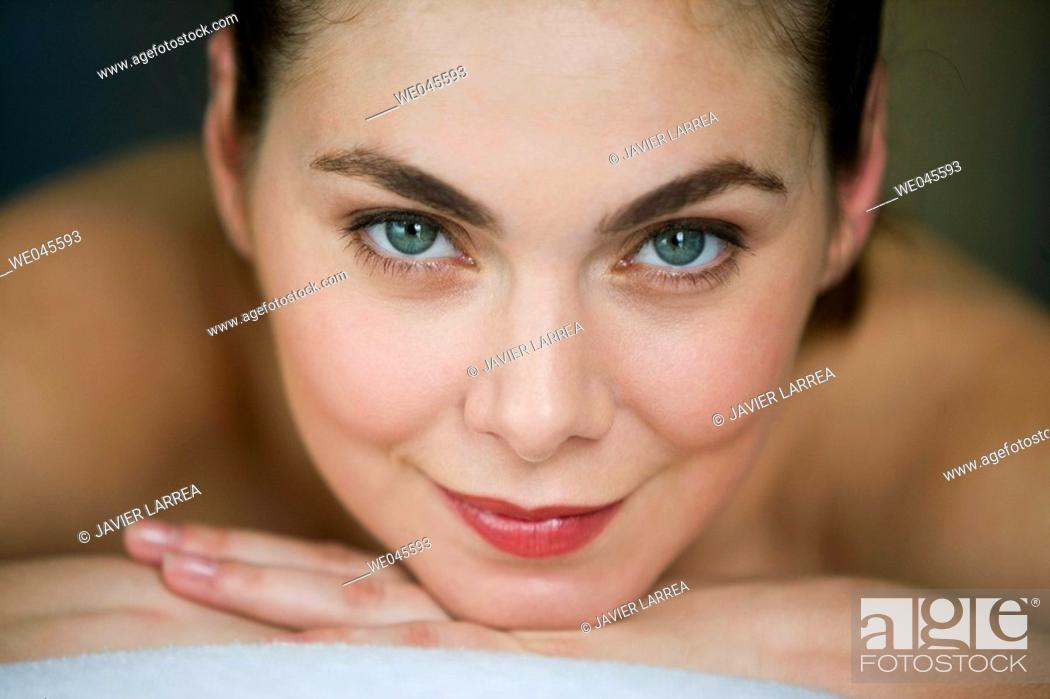 Stock Photo: Relaxation massage.
