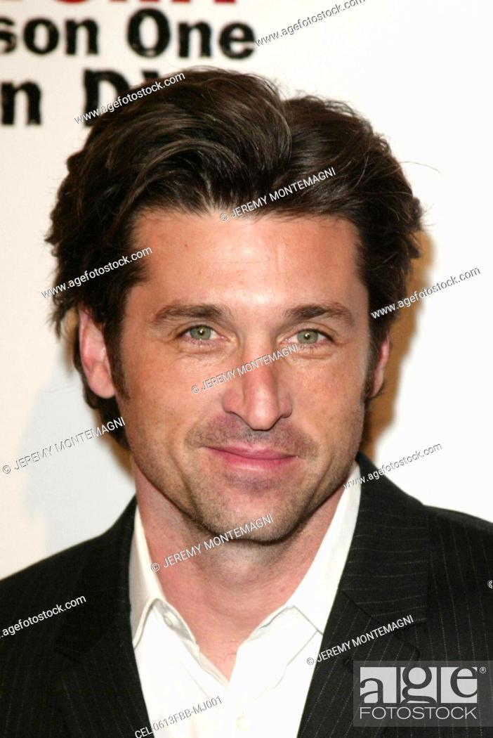 Patrick Dempsey At Arrivals For Greys Anatomy The Complete First