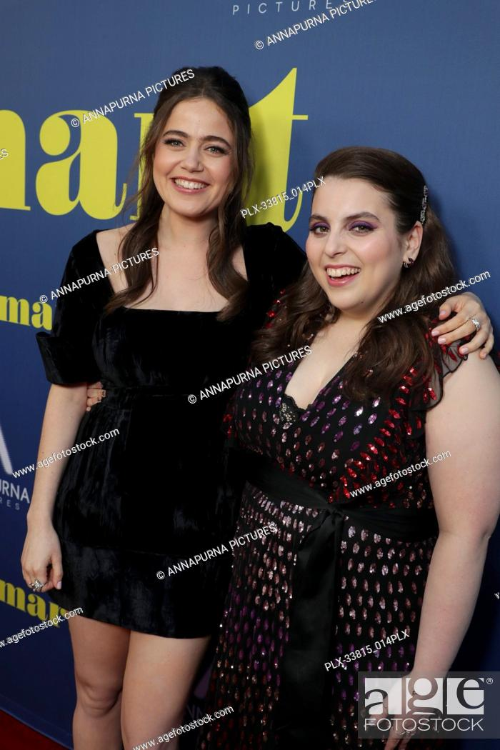 Stock Photo: Molly Gordon, Beanie Feldstein at the Los Angeles Special Screening of Annapurna Pictures' BOOKSMART at The Theatre at Ace Hotel, Los Angeles, CA, on May 13.