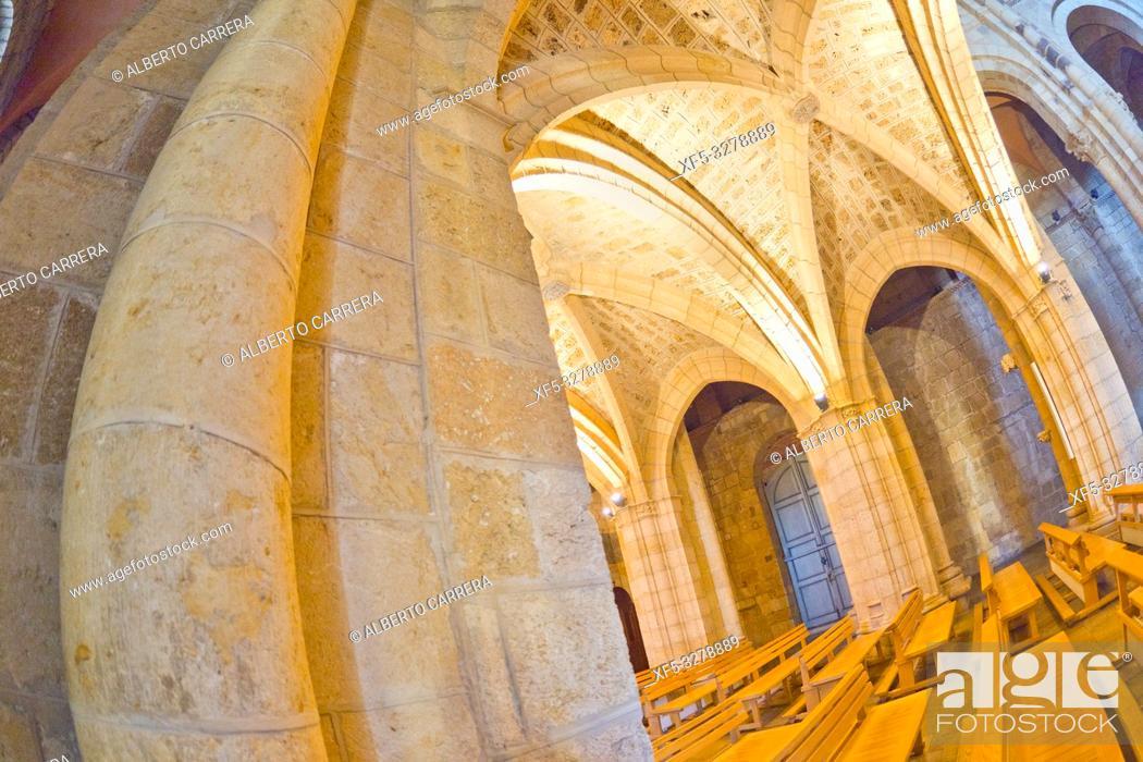 Stock Photo: Real Colegiata Basílica de San Isidoro, 11-12th Century Romanesque Style, León, Castilla y León, Spain, Europe.