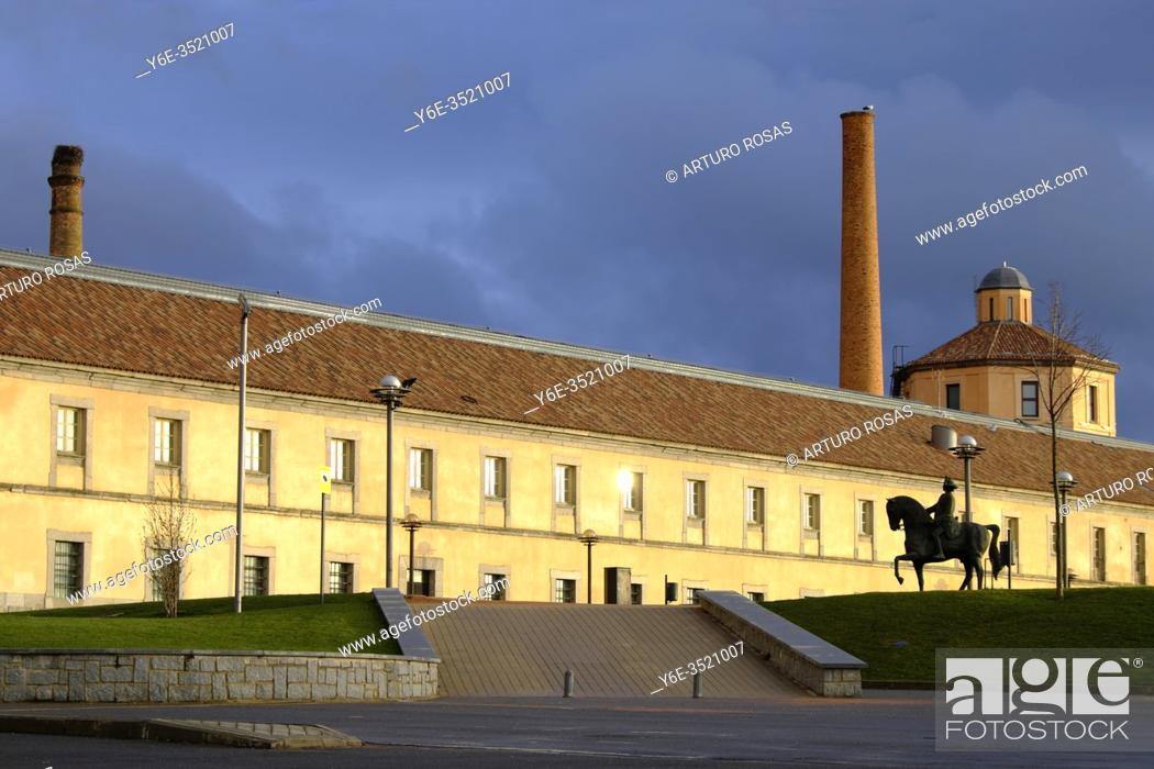 Photo de stock: The Royal Glass Factory of La Granja in Real Sitio de San Ildefonso, province of Segovia.