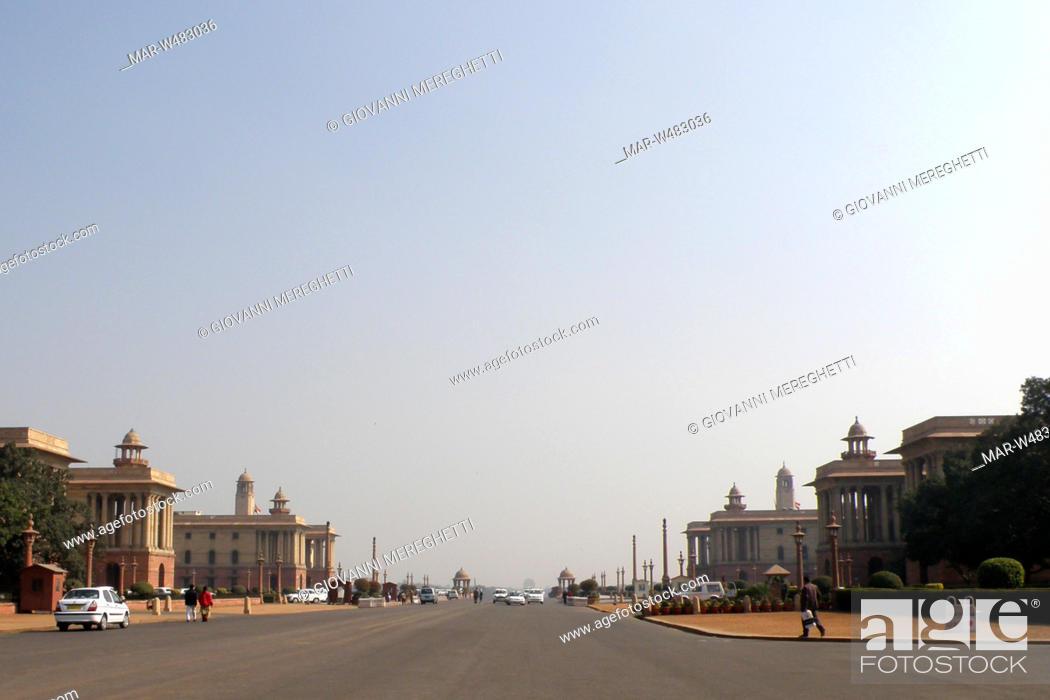 Stock Photo: New Delhi, India.