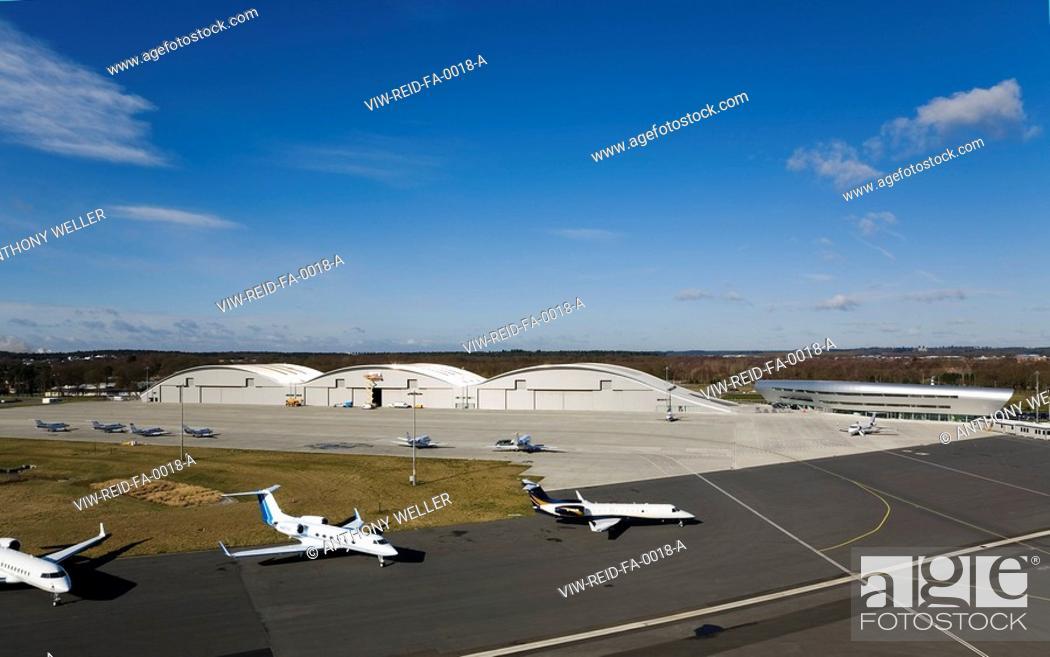 TAG FARNBOROUGH AIRPORT, FARNBOROUGH, HAMPSHIRE, UK, REID