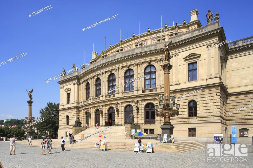 Stock Photo: Czechoslovakia, Prague, Rudolfinum Concert Hall.