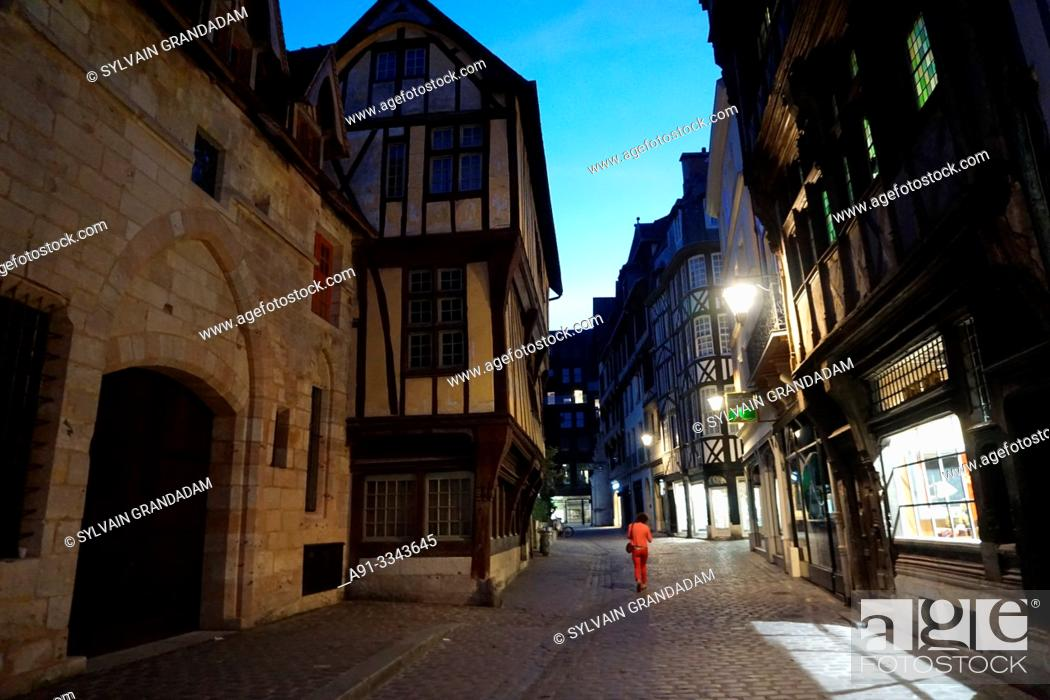Stock Photo: France, Normandy, city of Rouen.