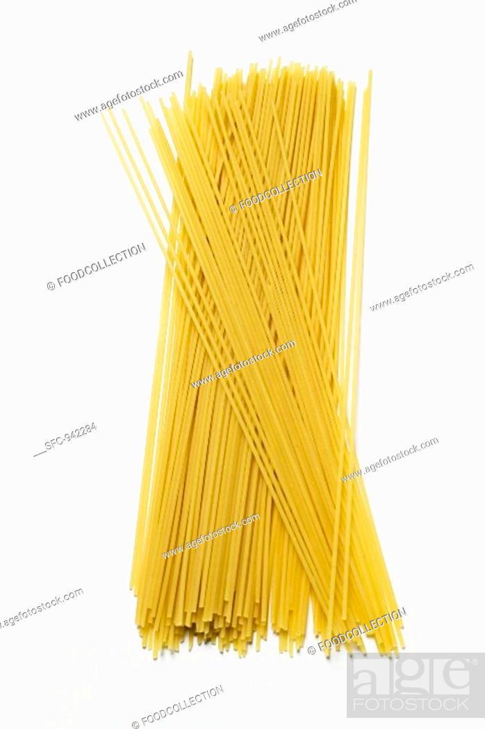 Stock Photo: Spaghetti.