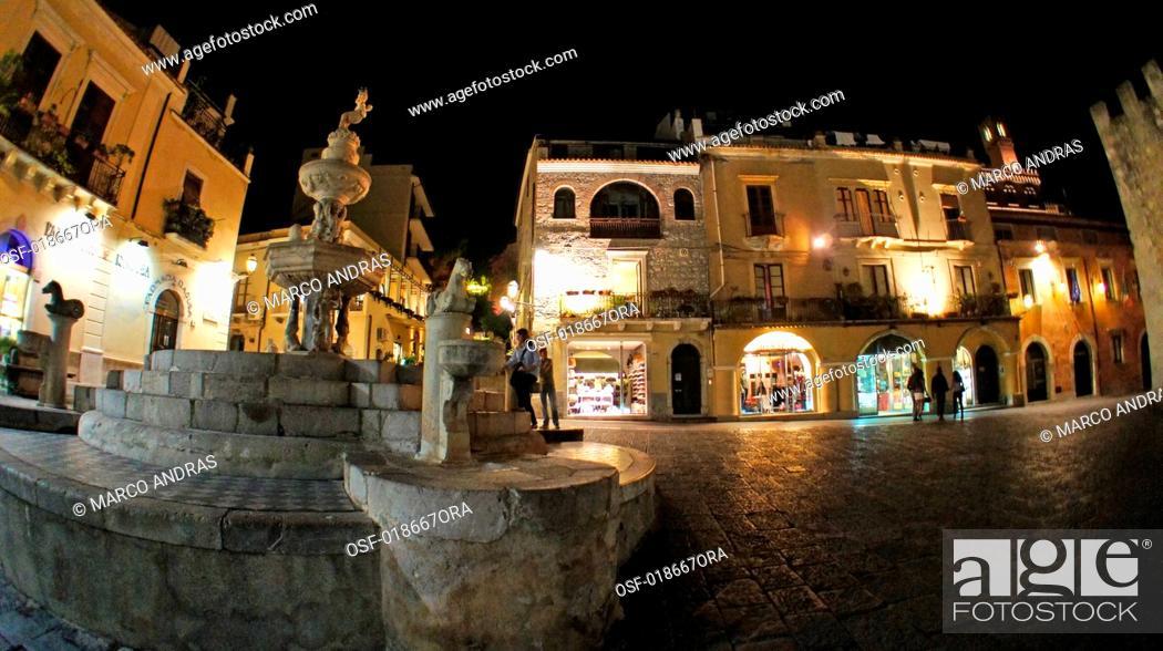Stock Photo: Italy, Taormina.
