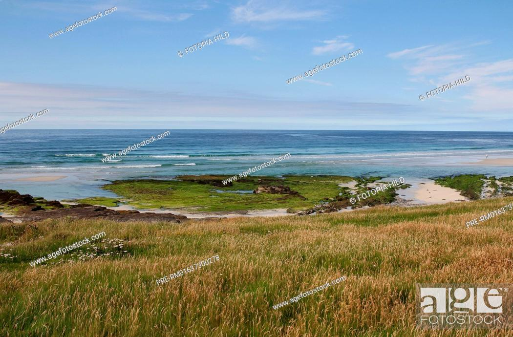 Stock Photo: West coast, Westray, Orkney Islands, Scotland, United Kingdom / Westküste, Westray, Orkney Inseln, Schottland, Großbritannien.