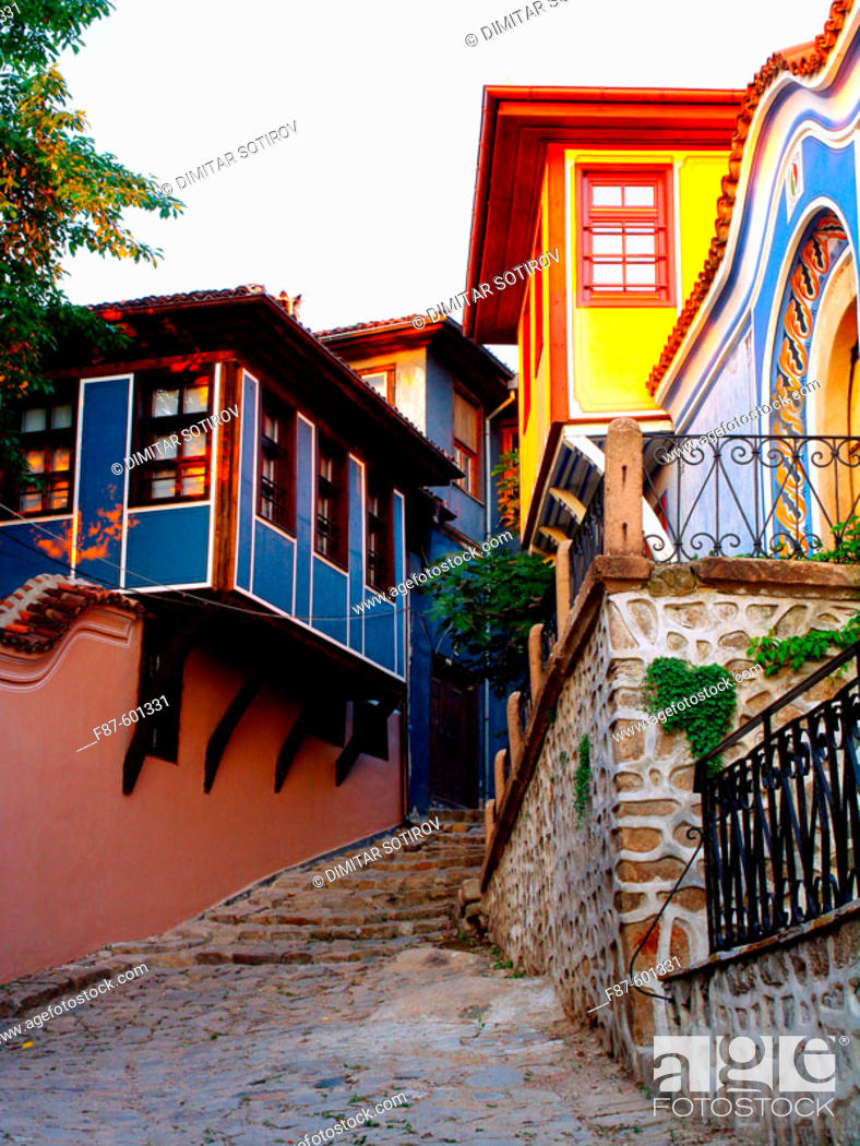 Stock Photo: The old city Plovdiv. Bulgaria.