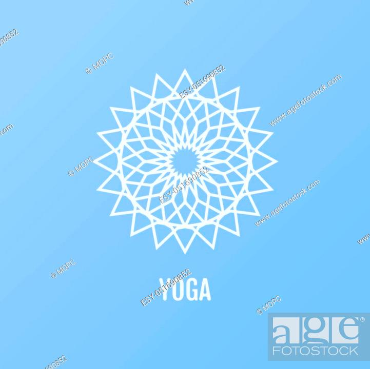 Vector Yoga Icons And Round Line Badges In The Shape Of A Flower Graphic Design Elements In Stock Vector Vector And Low Budget Royalty Free Image Pic Esy 051690852 Agefotostock,Royal Blue Wedding Cupcake Designs