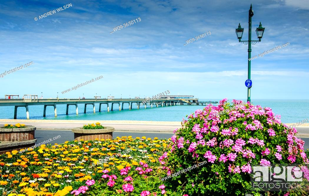 Stock Photo: The pier at DEAL, Kent, England.
