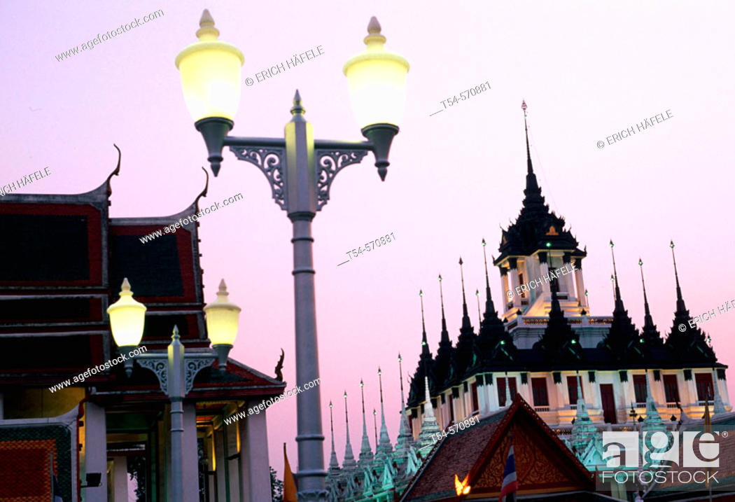 Stock Photo: Wat Ratchathiwat Bangkok.