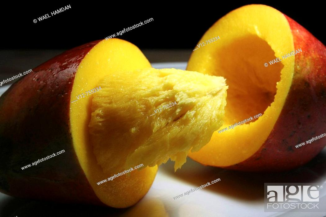 Stock Photo: Mango fruit.