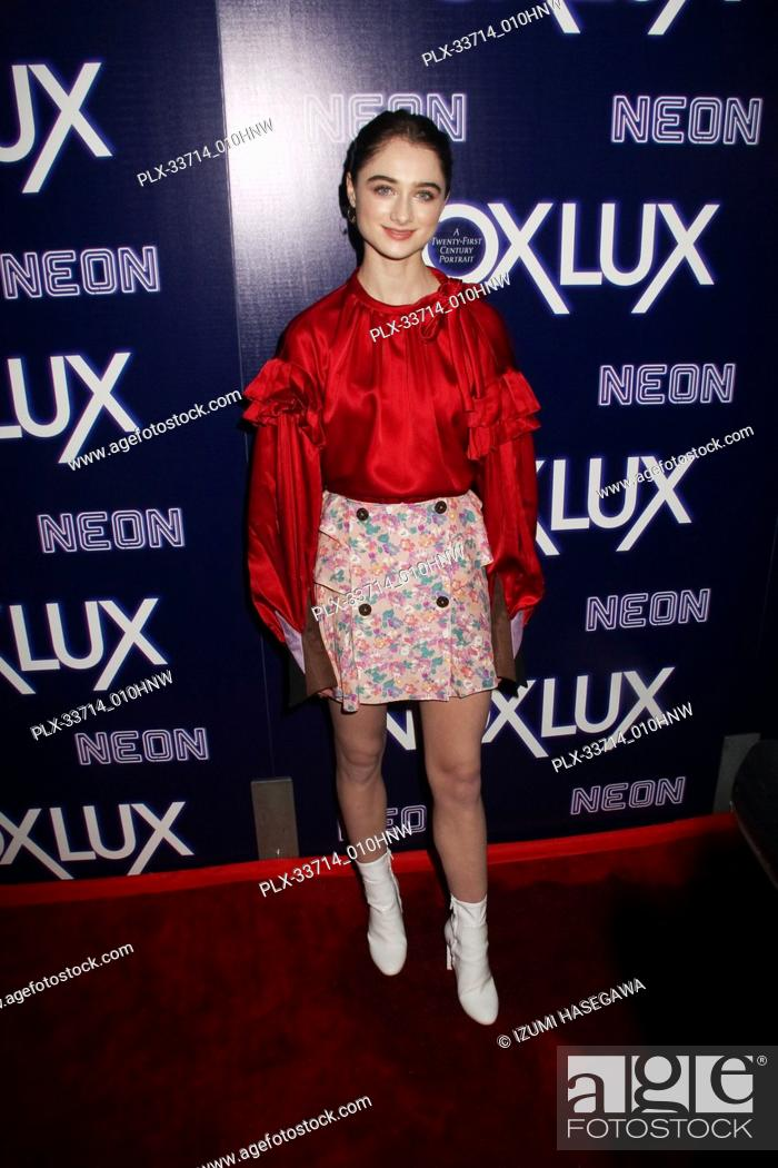 """Imagen: Raffey Cassidy 12/05/2018 The Los Angeles Premiere of """"""""Vox Lux"""""""" held at the Arclight Hollywood in Los Angeles, CA Photo by Izumi Hasegawa / HNW / PictureLux."""
