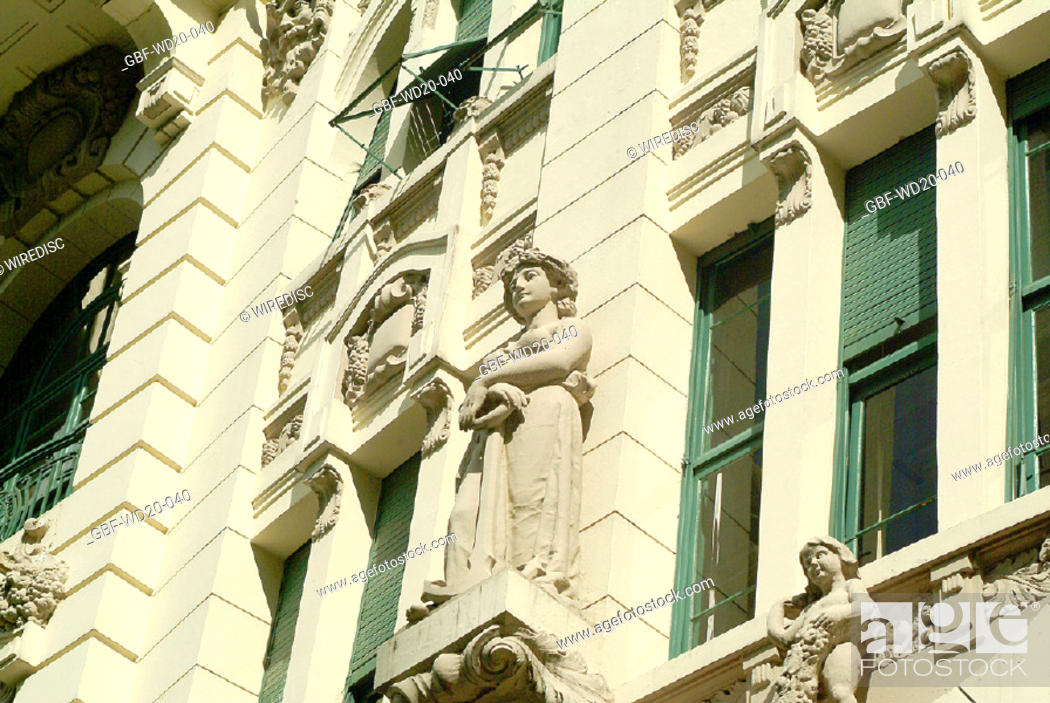 Stock Photo: Facade, architecture, Brazil.