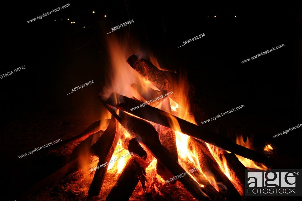 Stock Photo: Fire.