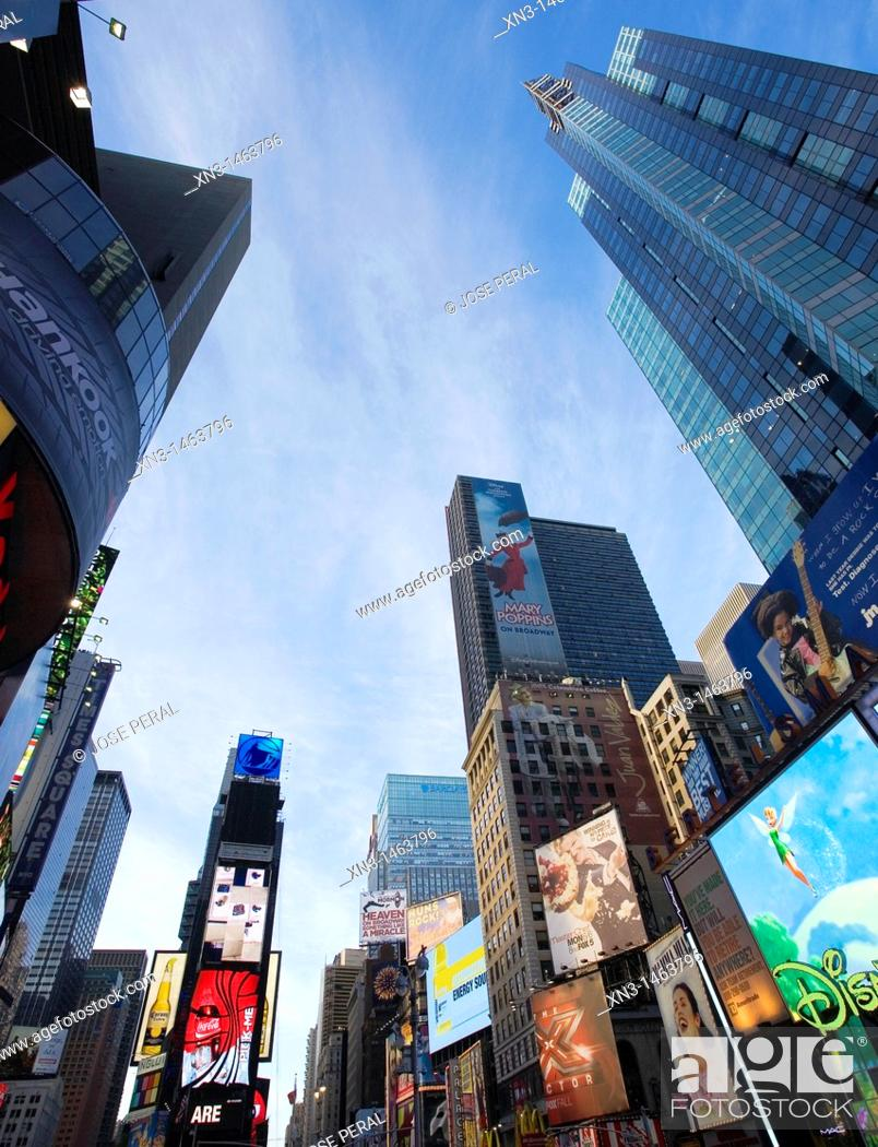 Stock Photo: Times Square, New York City, New York, USA.