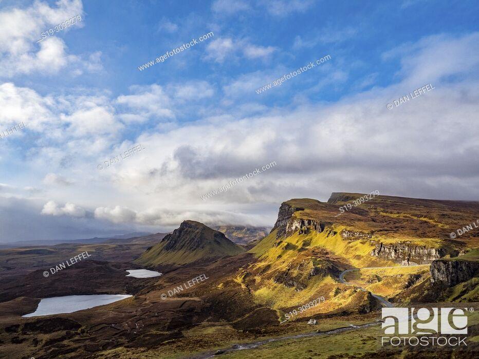 Imagen: Scotland Isle of Skye Quiraing Vista.