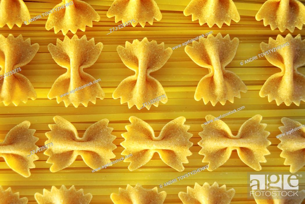 Stock Photo: background of pasta.