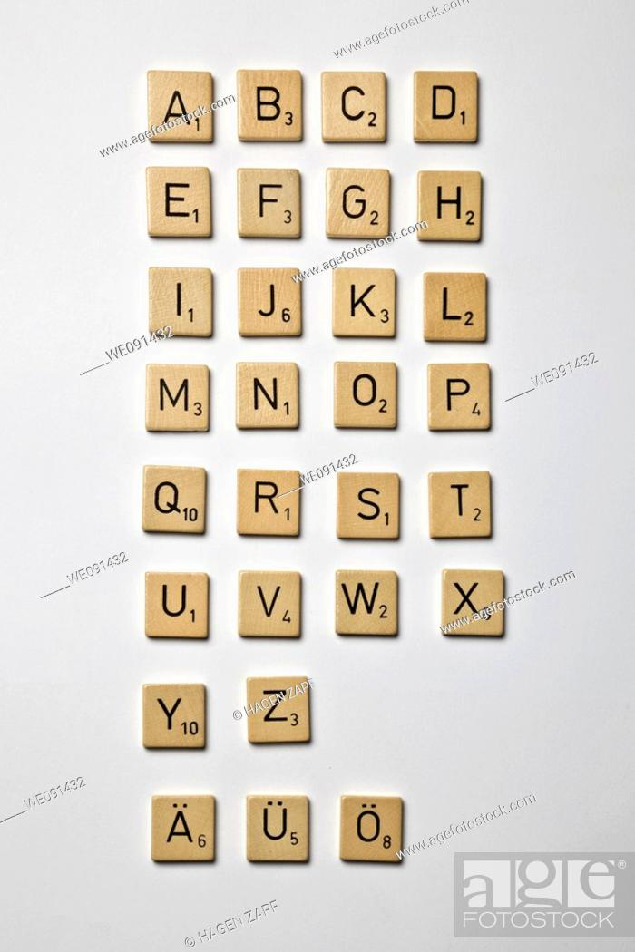 Stock Photo: Scrabble.