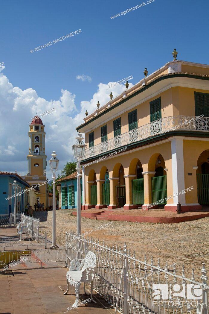 Imagen: Palacio Brunet (also called Romantic Museum), Trinidad, UNESCO World Heritage Site, Sancti Spiritus, Cuba.