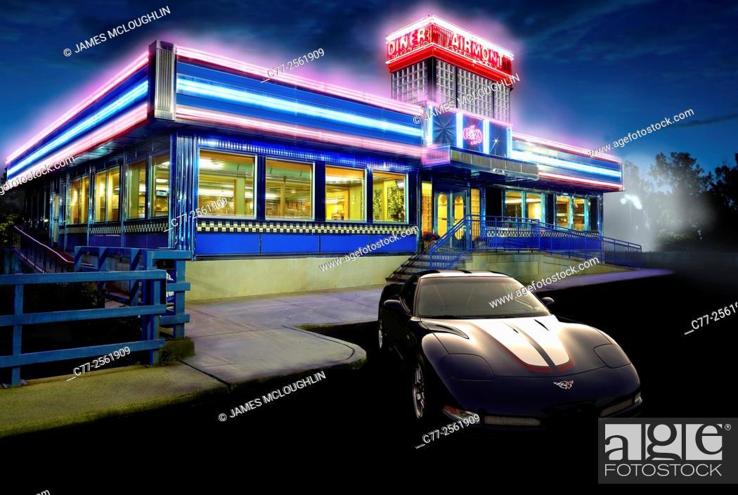 Imagen: Diner concept.