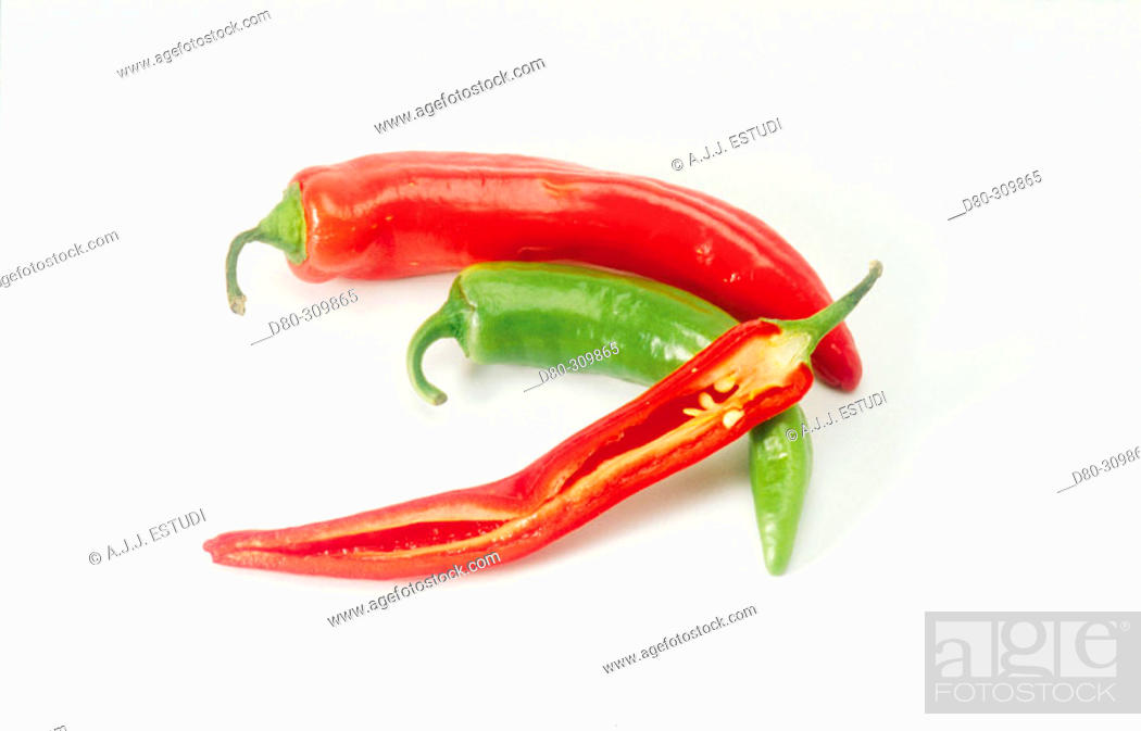 Stock Photo: Peppers.