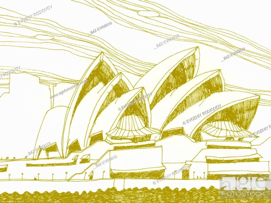 Stock Photo: Sydney Opera House.