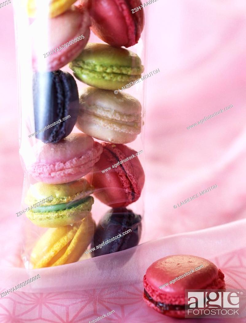 Stock Photo: Macaroons.