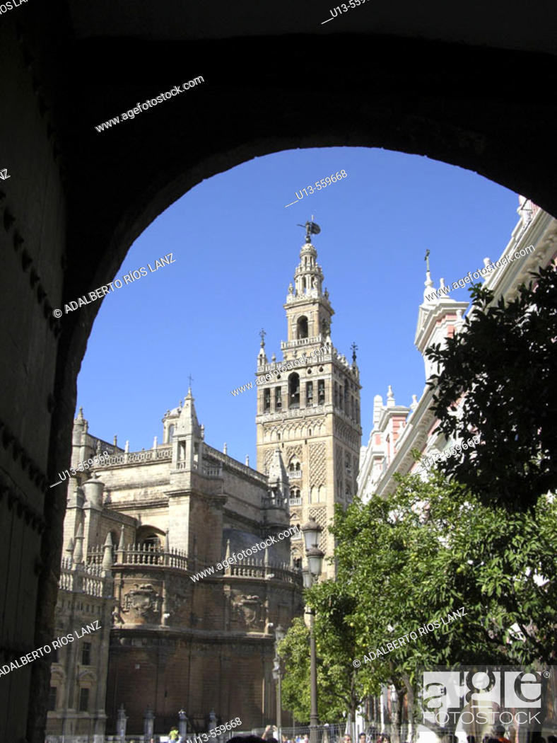 Stock Photo: Cathedral. Sevilla. Spain.