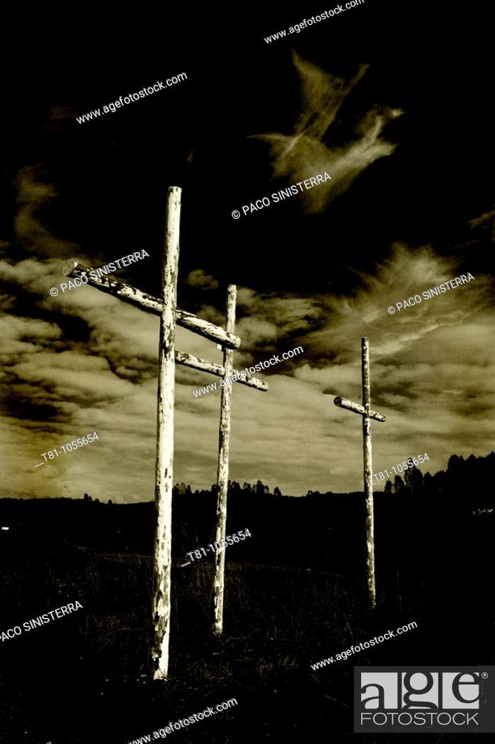 Stock Photo: crosses, crosses.