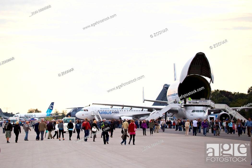 Stock Photo: ILA Berlin Air Show 2012.