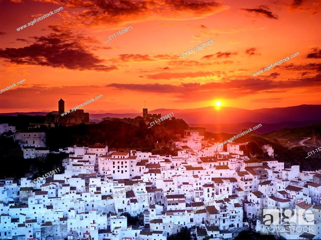 Imagen: Casares Andalucia Southern Spain Costa Del Sol.