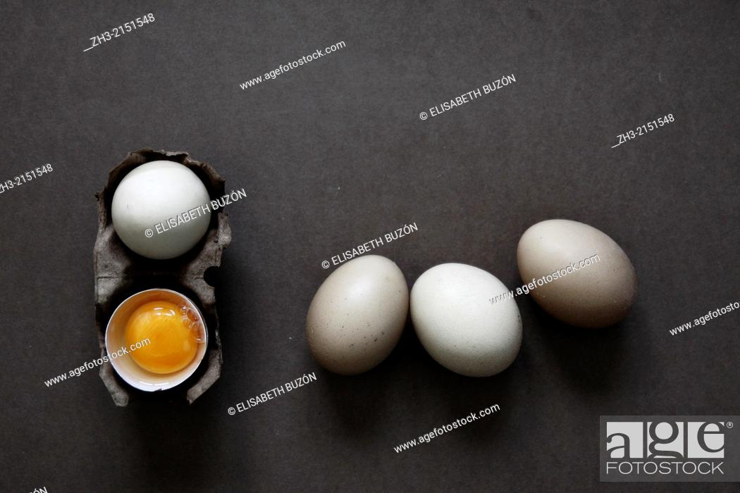 Stock Photo: Picture about some eggs.